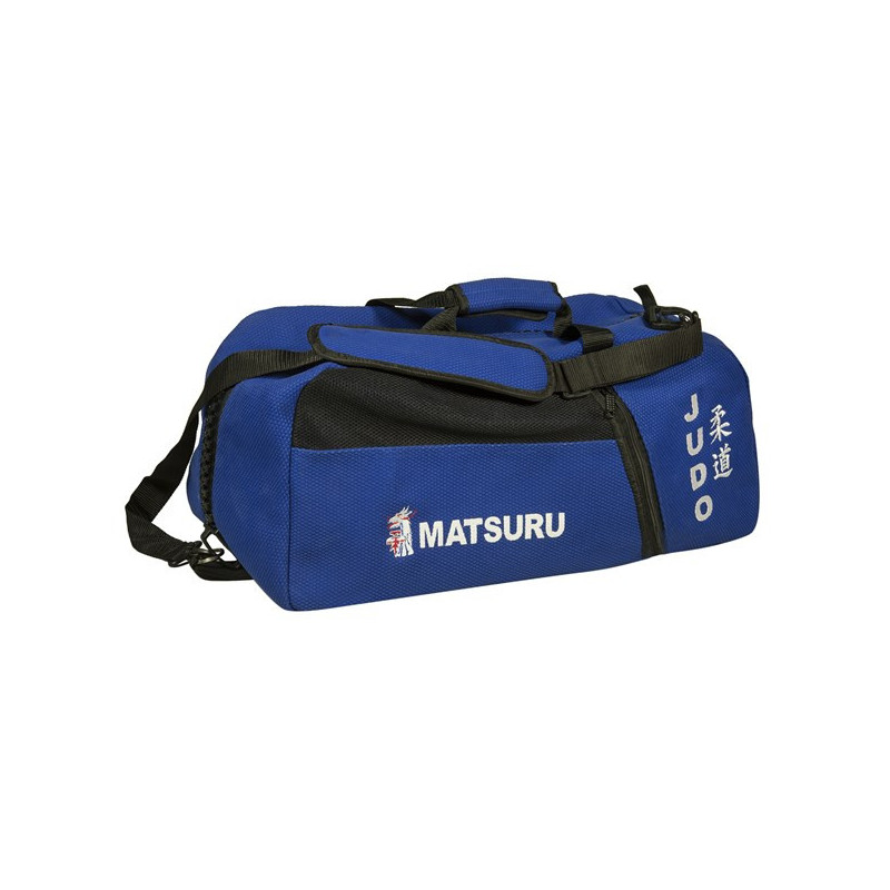 Backpack judo fabric blue