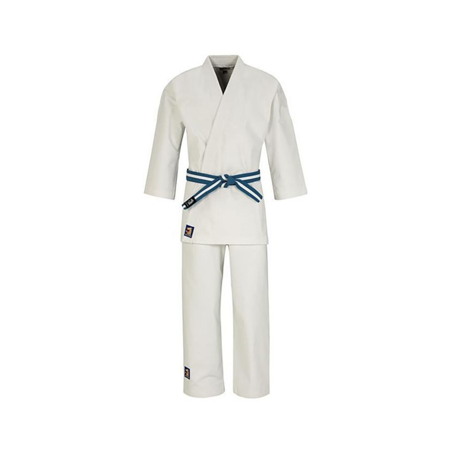 Matsuru - Judo Unifom Semi - white with pink shoulder padding