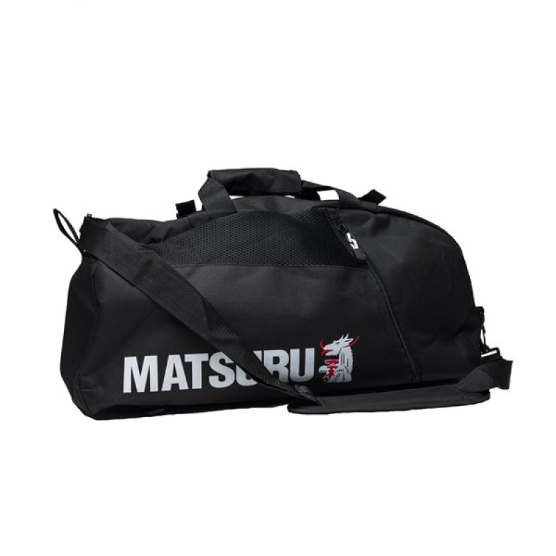 Sports bag/Backpack Matsuru - black