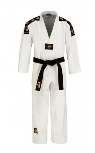"Taekwondo uniform Matsuru ""V"" – white"