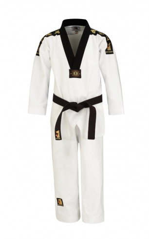 "Taekwondo uniform Matsuru ""V"" – black"