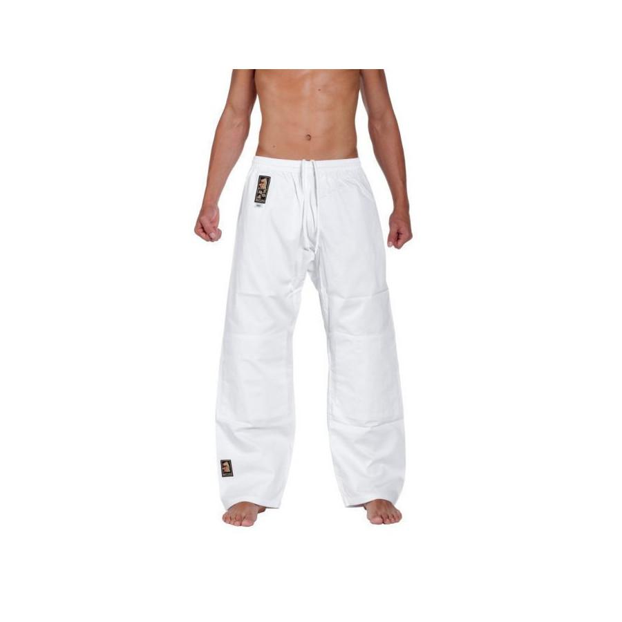 Matsuru - Judo-Anzug Juvo - weiß mit rosa Schulterbesatz