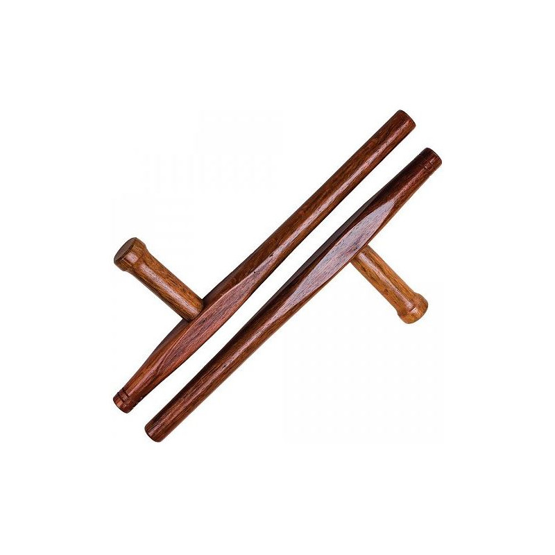 Tonfa made from red oak